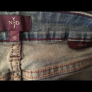 NYDJ Jeans - 🌿NYDJ Light Wash Ankle Jeans 10